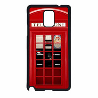 Vintage London Phone Boothm Samsung Galaxy Note 4 Case