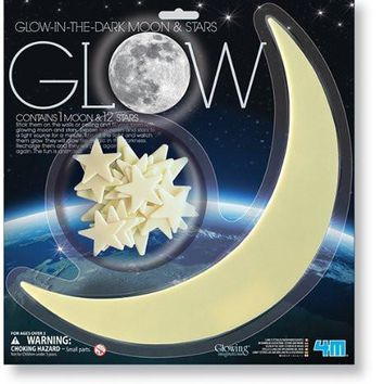 Glow-In-The-Dark Moon and Stars