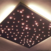 Square format ceiling industrial lighting