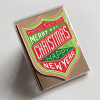Christmas & New Year Badge Boxed Set