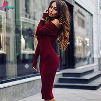 Strapless Off the Shoulder Autumn Maternity Dress
