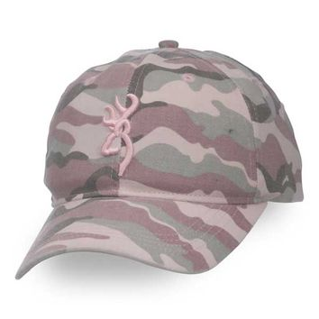Browning for Her Needles AT Pink Camo Hat
