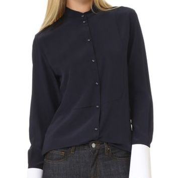 Structured Cuff Shirt