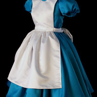 Adult Classic Alice in Wonderland Custom Costume