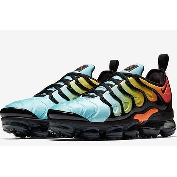 NIKE AIR VAPORMAX PLUS Fashion Women Men Personality Running Sneakers Sport Shoes I-CSXY