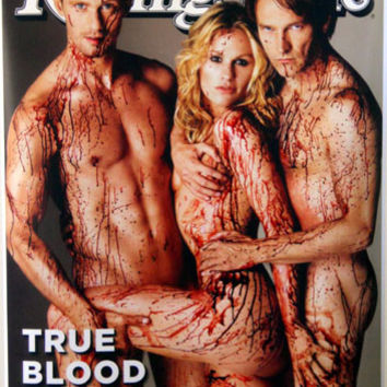 "True Blood Rolling Stone Promo Poster 16""x24"""