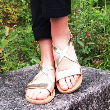 Leather sandals/many colours available/greek sandals