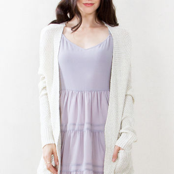 The Slubby Chic Cardigan Sweater