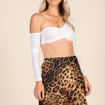 Falling For You Top-White