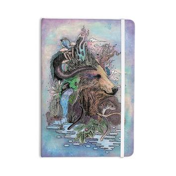 "Mat Miller ""Forest Warden"" Bear Nature Everything Notebook"