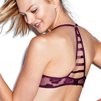 Hibiscus Lace Cage Back Bra - PINK - Victoria's Secret
