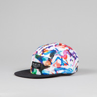 The Quiet Life Sohl Watercolor 5 Panel Cap Black Bill