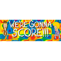 Beavis & Butthead - We're Gonna Score - Decal