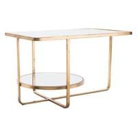 A10788 Geo Coffee Table Gold