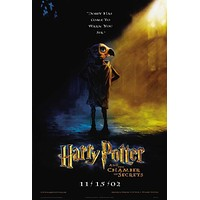 Harry Potter and the Chamber of Secrets 27x40 Movie Poster (2002)