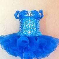 Glitz Pageant Dress Custom Order by ShayBabyBoutique on Etsy