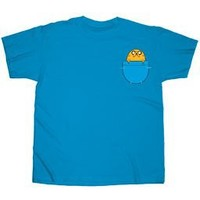 Adventure Time With Finn And Jake Pocket Jake Officially Licensed Adult T-shirt