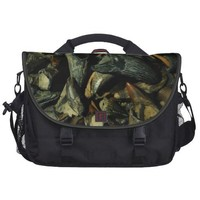 Fossil Crocodile Teeth Laptop Bag from Zazzle.com