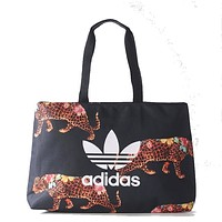 Adidas Fashion Leopard Print Handbag Satchel Shoulder Bag Crossbody