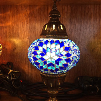 Turkish Mosaic Handmade Table Lamp/Moroccan