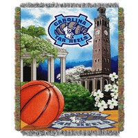 North Carolina Tar Heels Tapestry Throw by Northwest (Unc Team)