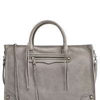 Rebecca Minkoff 'Large Regan' Satchel - Grey