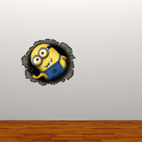 Free shipping - Minion wall sticker, decal