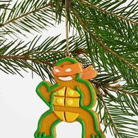 Teenage Mutant Ginger Turtle Ornament-