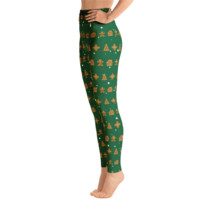Gingerbread Man Christmas Leggings