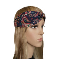 Boho Twisted Headband - Turban Style Hair Accessories