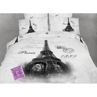 Novelty Bedding Twin Size 4 Piece Duvet Cover Sets, Dolce Mela DM495T - Gifts for You and Me