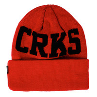 Crooks and Castles - CRKS Luxplorer Beanie Red