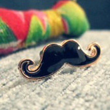 Style Alloy Nifty and Cute Small Beard Design Mobile Phone Ear Cap Dust Plug For Iphone For Samsung 3.5mmDust Plug