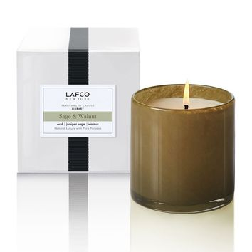 Sage & Walnut 'Library' Candle