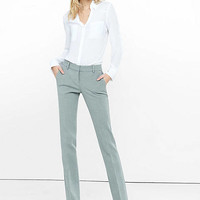 Low Rise Straight Leg Trouser from EXPRESS