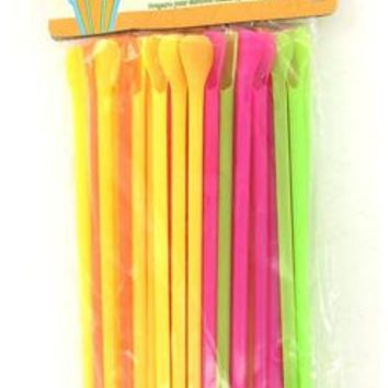 Spoon Drinking Straws Case Pack 24