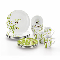 Rachael Ray Seasons Changing 16 Piece Dinnerware Set & Reviews | Wayfair