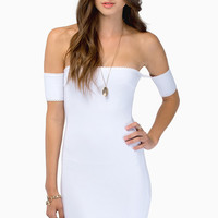 Showing Shoulders Bodycon Dress