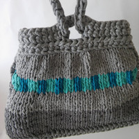 knitted japanese knot handbag