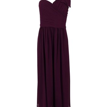 Lauren Ralph Lauren Women's One Shoulder Gown