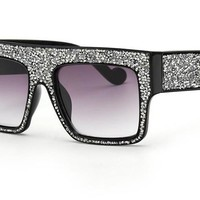 Chunky Aviator Shield Show Stopper Sunglasses ***MORE COLORS***