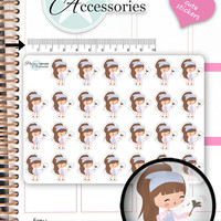 Cleaning Stickers Cleaning Planner Stickers Household Stickers Cute Stickers Erin Condren Functional Stickers Kawaii Stickers NR1358