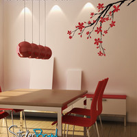 Vinyl Wall Decal Sticker Flower Branch Blossoms #837