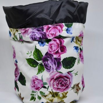 Floral Travel Cosmetic Bag