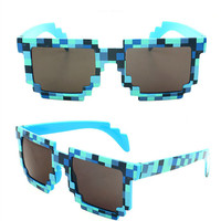 Deal with it Minecraft Glasses 8 bit Pixel