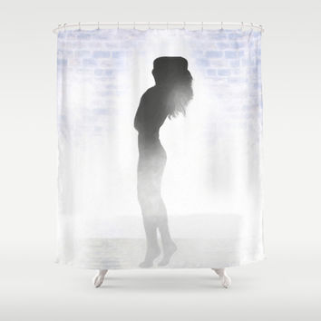 Feels Like A Spa Day Shower Curtain by Mark E Tisdale