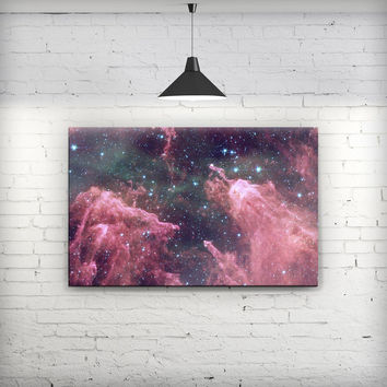 Crimson Nebula - Fine-Art Wall Canvas Prints