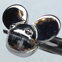 Deadmau5 Head Ring in .925 Sterling Silver, All sizes Available