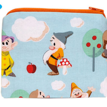 NEW 7 Dwarfs Small Wallet | Seven Dwarfs Coin Purse | Disney Change Purse