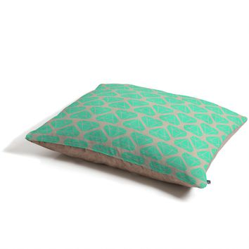 Allyson Johnson Mint Diamonds Pet Bed